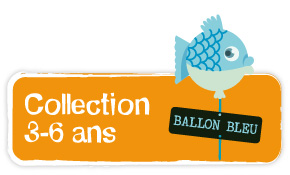 accedez à la collection ballon bleu